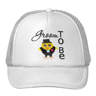 Groom To Be Mesh Hats