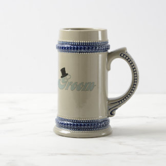 Groom Top Hat Stein