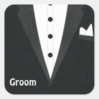 Groom Tux Sticker