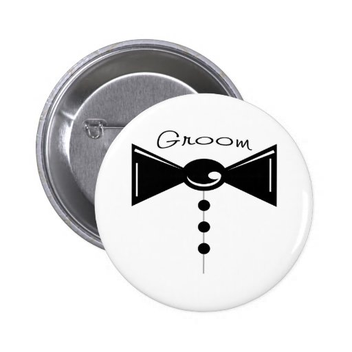 Groom Tux T-Shirts & Gifts Buttons