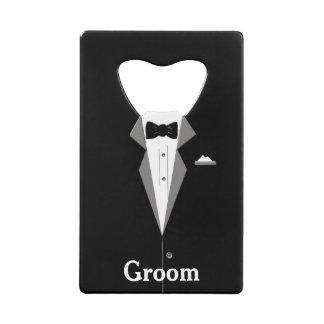 Groom Tuxedo Bottle Opener
