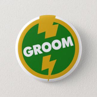 Groom Wedding - Dupree 6 Cm Round Badge