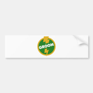 Groom Wedding - Dupree Bumper Sticker