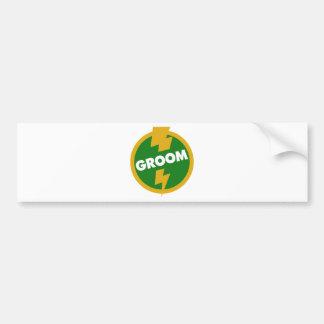 Groom Wedding - Dupree Car Bumper Sticker