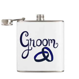 Groom Wedding Favors Hip Flask