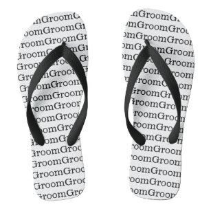 004e1433afff7 The Grooms Flip Flops   Sandals