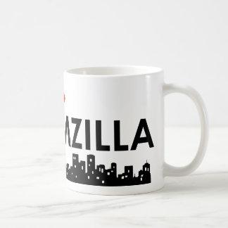 groom-zilla basic white mug