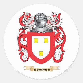 Groombridge Coat of Arms (Family Crest) Round Sticker