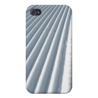 Groomed Snow Cases For iPhone 4