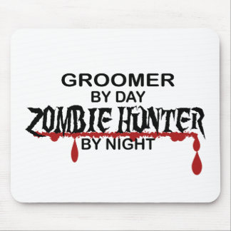 Groomer Zombie Hunter Mouse Pad