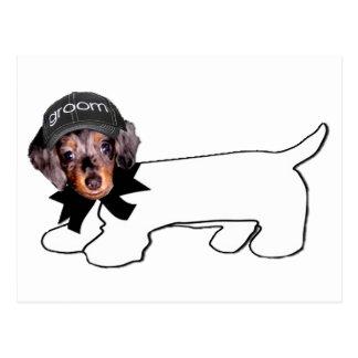 Groom's Autograph Hound Postcard