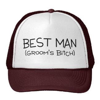Grooms Best Man Cap