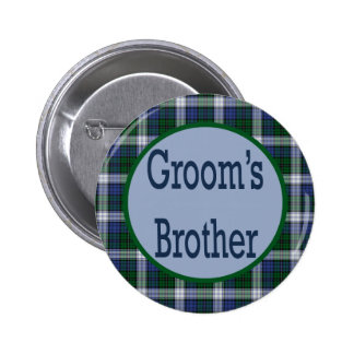Grooms Brother Button