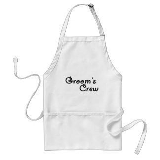 Groom's Crew Standard Apron