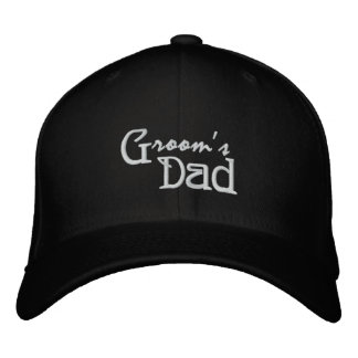 Groom's Dad Embroidered Cap
