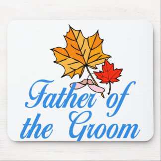 Groom's dad - fall mouse mats
