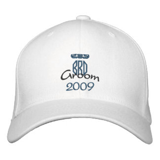 Groom's Hat - Customized Embroidered Baseball Cap
