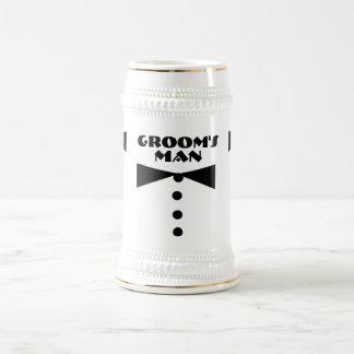 Groom's Man Stein