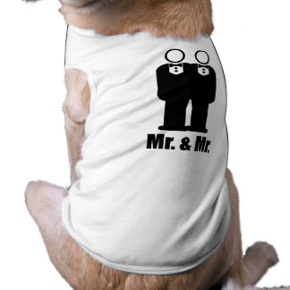 GROOMS MR. AND MR. -.png Pet Clothing
