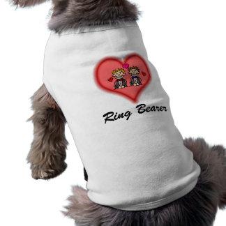 Grooms Sleeveless Dog Shirt