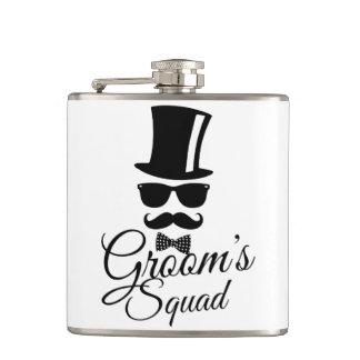 Groom's squad flasks