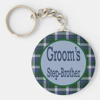 Grooms Step-Brother Keychain