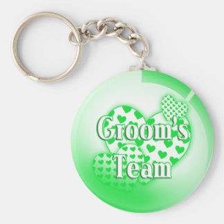 Grooms Team Keychain