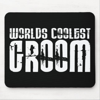 Grooms Wedding Parties Favors Worlds Coolest Groom Mouse Pads