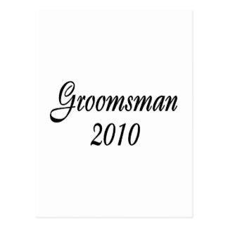 Groomsman 2010 postcard