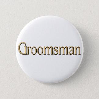 Groomsman button