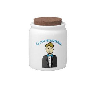 Groomsman Candy Dish