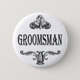 groomsman customizable color button