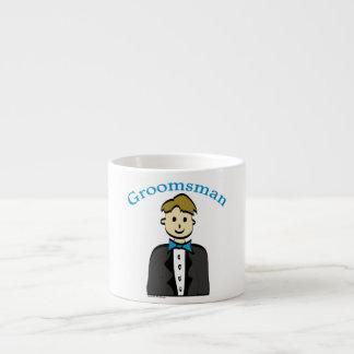 Groomsman Espresso Cups