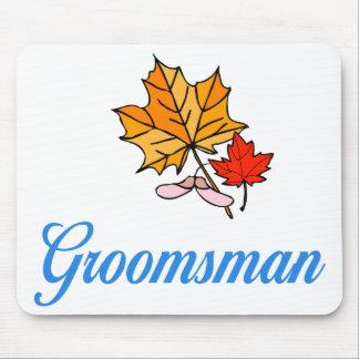 Groomsman - fall mouse mat
