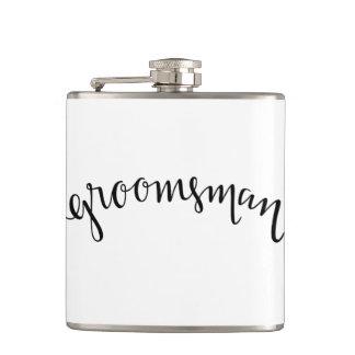 Groomsman Flask