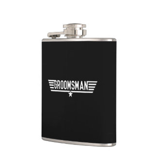 Groomsman Flasks