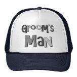 Groomsman Grey Trucker Hat