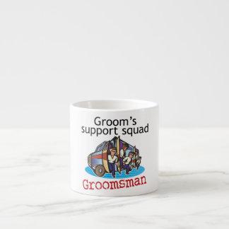 Groomsman Groom's Squad Espresso Cups