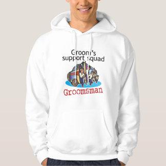 Groomsman Groom's Squad Hoodie