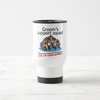 Groomsman Groom's Squad Stainless Steel Travel Mug