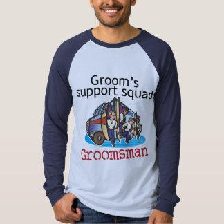 Groomsman Groom's Squad Tee Shirt