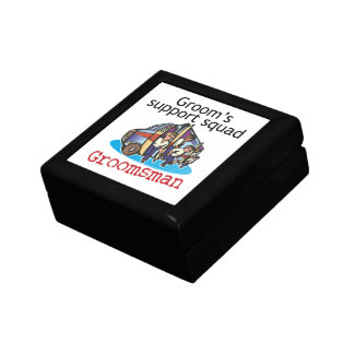 Groomsman Groom's Squad Trinket Box