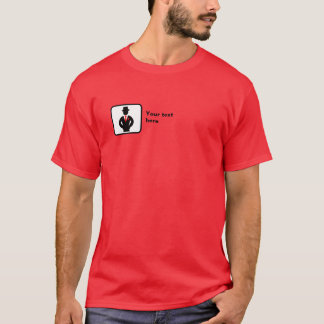 Groomsman Logo -- Customizable T-Shirt