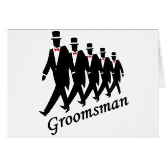 Groomsman (Men) Card