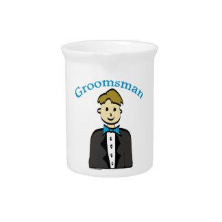 Groomsman Pitcher