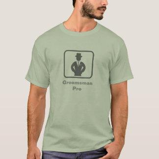 Groomsman Pro (Grey Logo) T-Shirt