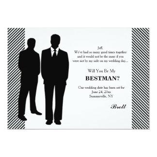 Groomsman Request Card 13 Cm X 18 Cm Invitation Card