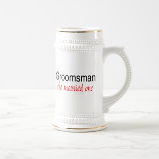 Groomsman (The Married One) Beer Stein