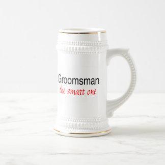 Groomsman (The Smart One) Beer Stein