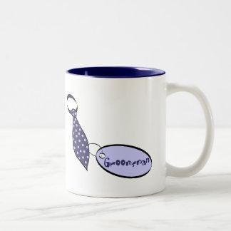 Groomsman Two-Tone Mug